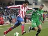 Costa y Nacho en el Atlético - Betis