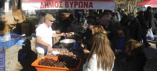 Mercados sin intermediarios en Grecia