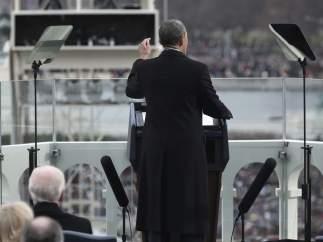 Obama en su investidura