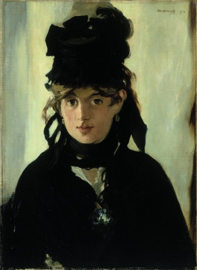'Berthe Morisot with a Bouquet of Violets'