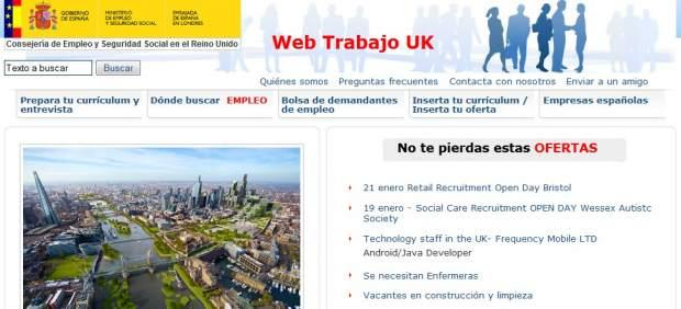 Portal de empleo Embajada española en Londres