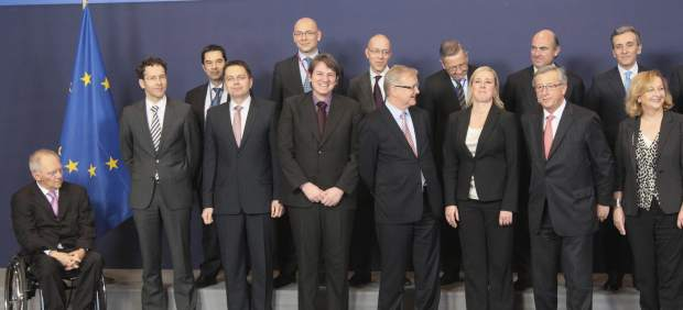 Reuni�n de ministros de Finanzas del Eurogrupo