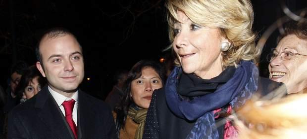 Carromero, junto a Aguirre