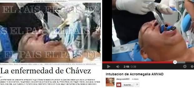La portada de 'El Pa�s' y el v�deo del 'falso Ch�vez'