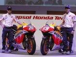 El equipo Repsol presenta sus nuevas motos