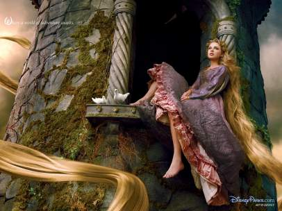 Taylor Swift es Rapunzel