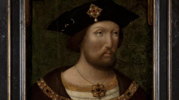 'King Henry VIII, unknown Anglo-Netherlandish artist, c.1520'
