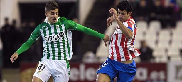 Vadillo y Costa en el Betis - Atlético