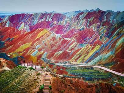 Formaciones multicolor