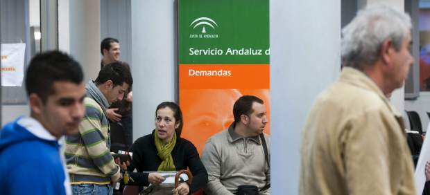 Desempleados andaluces