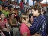 Rousseff, con los familiares de las v�ctimas