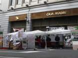 Acampada frente a Bankia en Celenque
