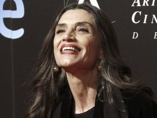 Ángela Molina en la fiesta de los nominados a los Goya