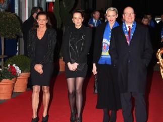 El regente de Mónaco y su familia