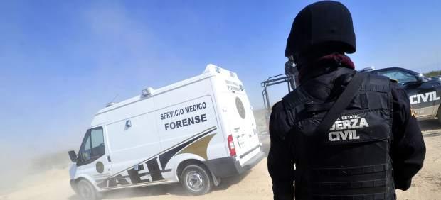 Cadáveres de 'Kombo Kolombia'