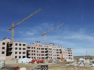 Viviendas en construcción