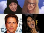 Protagonistas de 'El mundo de Wayne'