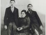 Los hermanos Proust y su madre