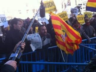 Protestas ante Génova