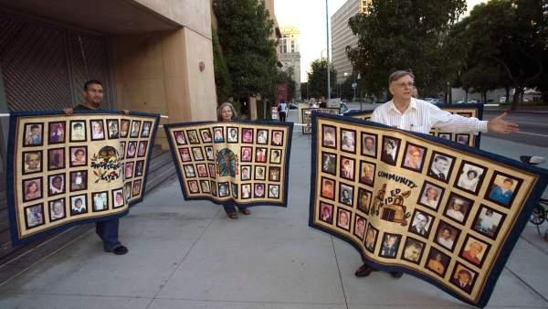 Víctimas de abusos de religiosos