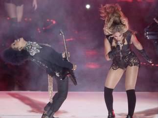 Beyoncé en la Super Bowl