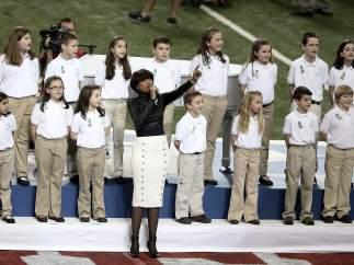 Sandy Hook en la Super Bowl