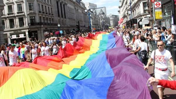 Orgullo gay en Londres