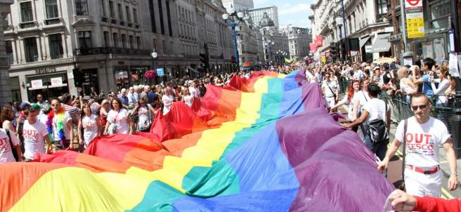 Orgullo gay en Londres