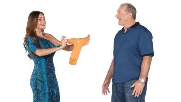Gloria y Jay, dos de los protagonistas de 'Modern Family'.