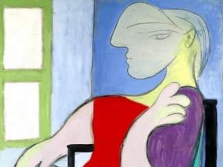 'Mujer sentada junto a una ventana', de Picasso