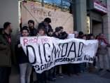 Protesta en el INEM