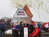 Ceremonio de inicio de la cuenta atrás para los juegos olímpicos de invierno