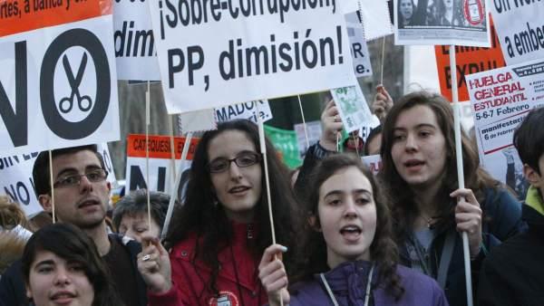 Vuelven las protestas contra los recortes en Educación
