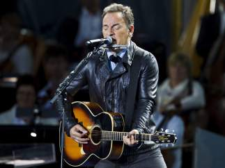 Bruce Springsteen, en un concierto.