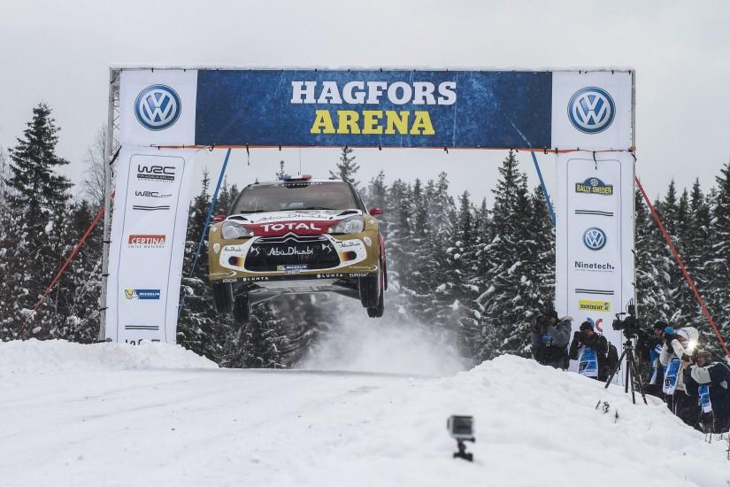 Emoción en el Rally de Suecia