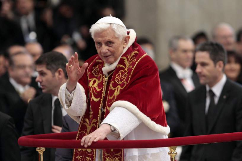 El Papa, cansado