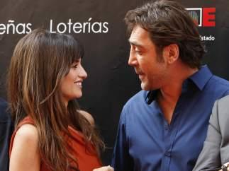 Penélope Cruz y Javier Bardem, en Madrid.