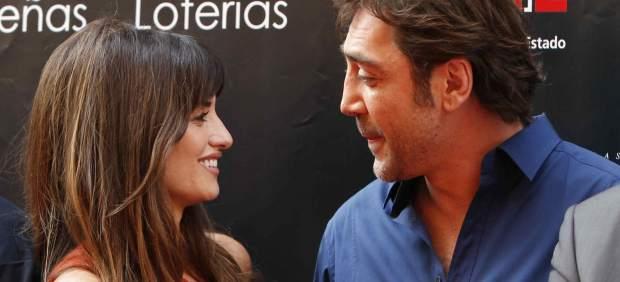 Penelope Cruz and Javier Bardem in Madrid.