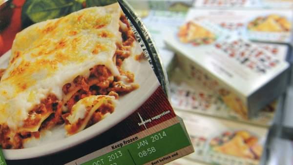 Espaguetis boloñesa con un 60 por ciento de carne de caballo.