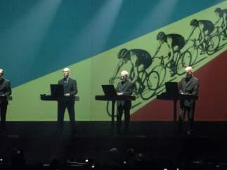 Kraftwerk, en un concierto en Zaragoza.