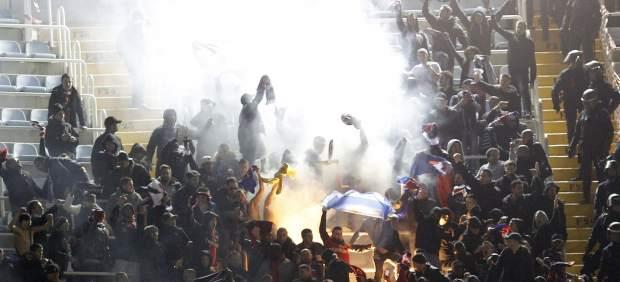 Hinchas del PSG