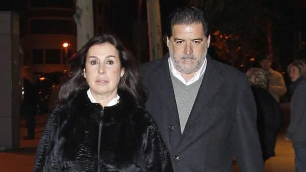 José Campos y Carmen Martínez Bordiú