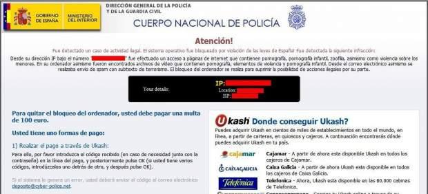 Detienen en España a varios ciberdelincuentes de una red que infectó millones de ordenadores