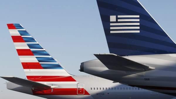 American Airlines y US Airways se fusionan en la mayor aerolínea del mundo