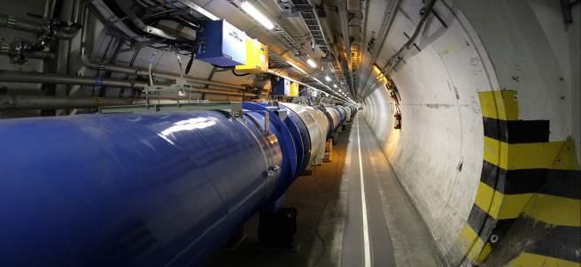 Gran Acelerador de Partículas en el CERN