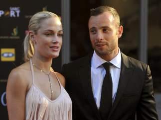 Pistorius y su novia