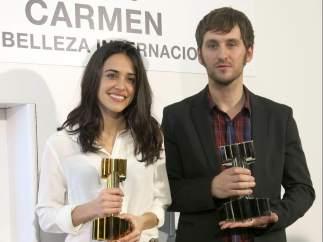 Macarena García y Raúl Arévalo