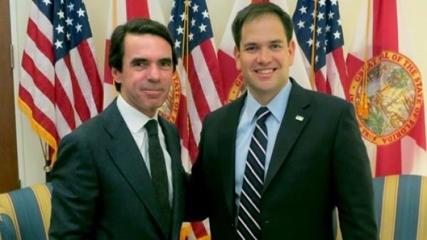 Aznar y Marco Rubio