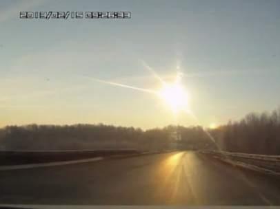 Meteorito sobre los Urales