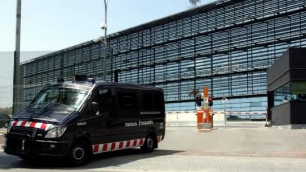 La comisaría central de Mossos en Sabadell